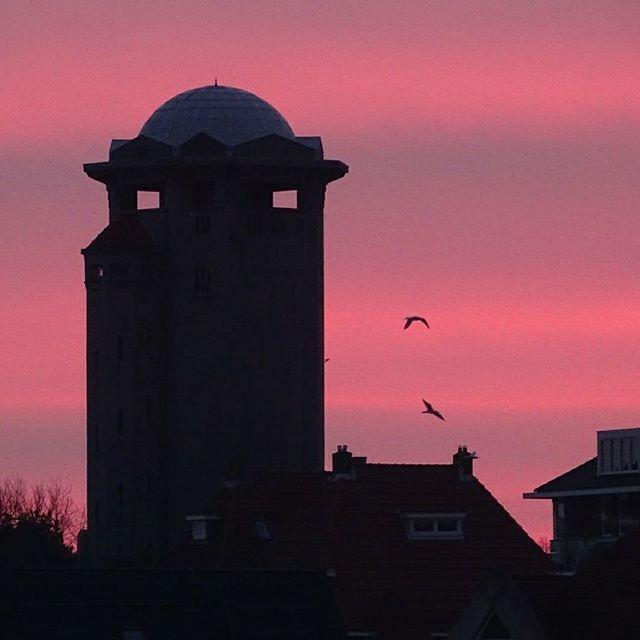 Water Tower, Noordwijk, the Netherlands. thx to Herman&Trui